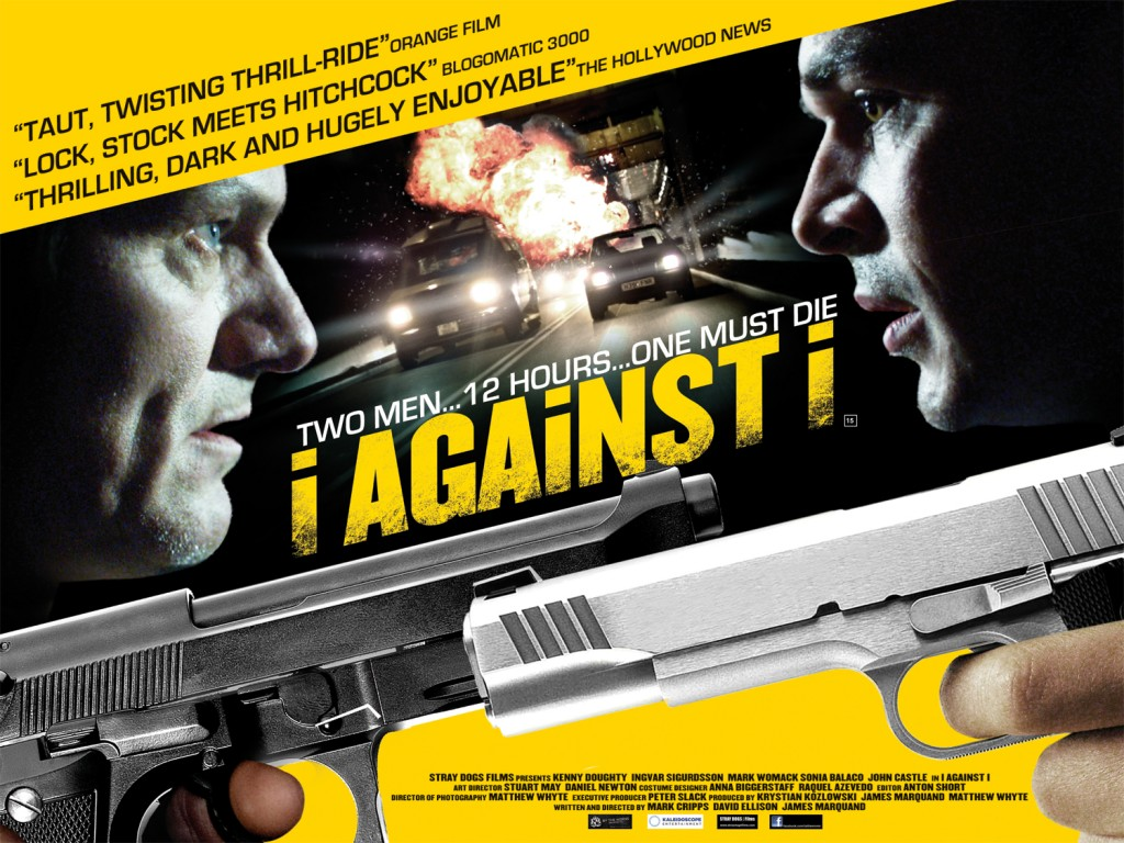 I against I poster for the feature film directed by Filmmaker David Ellison