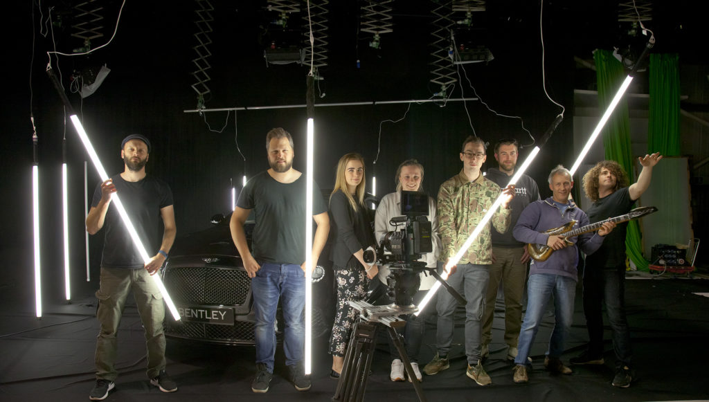 David Ellison can harness numerous production crew for your project